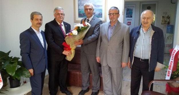 Erdoğan Isır, Tüm Emekliler Derneğini Yöneticilerin Kabul Etti.