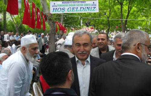 Babam Sultan Etkinliklerine ilk defa bir vali katıldı.