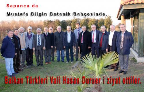 Balkan Türkleri Yöneticileri Sapanca da