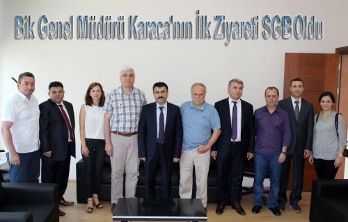 BİK Genel Müdürü Karaca Sakarya'ya geldi