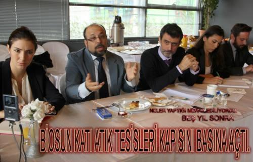 Biosun Basına Tanıtıldı.