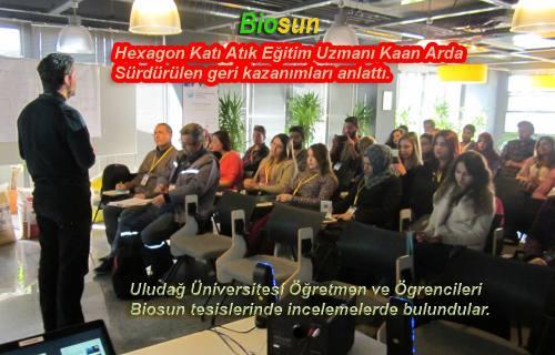 Biosun, Kapılarını Bursa'dan gelen Üniversite öğrencilerine açtı.