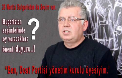 Bulgaristan seçimlerinde  oy vereceklere önemli duyuru..!