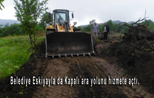 Cevat Keser'den Mahallelere Araç-Gereç ve makine desteği