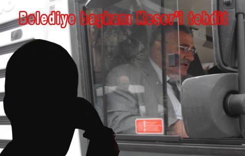 Cevat Keser'i tehdit iddiası ile 2 şüpheli tutuklandı.