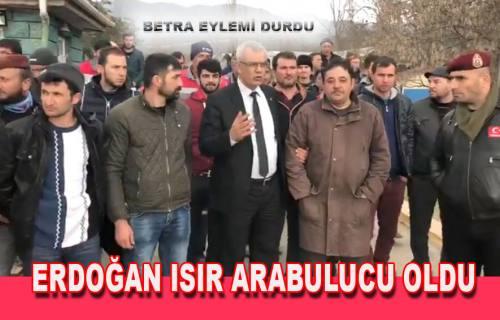 CHP İl başkanı Erdoğan Isır Arabulucu oldu Eylem Durdu
