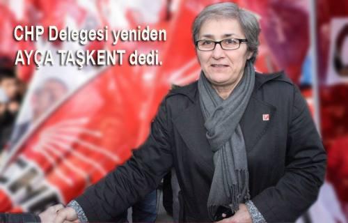 CHP Sakarya da ' Taşkent le devam' dedi