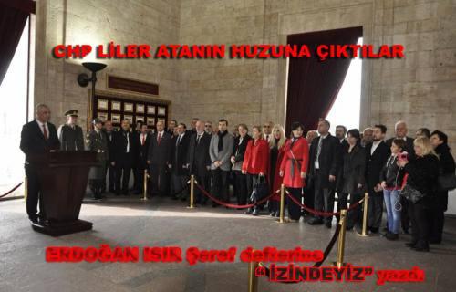 CHP Sakarya İl Örgütü Ankara'ya Çıkarma yaptı.