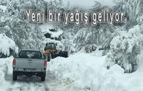 Cuma Günü yeniden kar geliyor.
