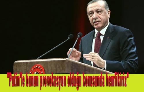 Cumhurbaşkanı Erdoğan, Rusya Büyükelçisi Andrey Karlov'un öldürülmesine konuştu.
