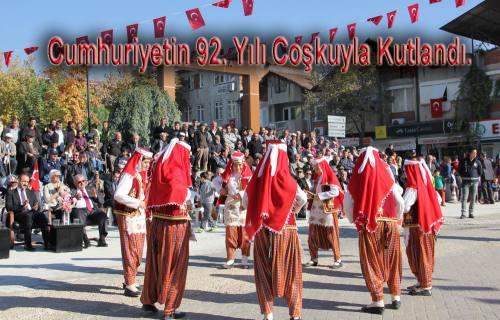 Cumhuriyetin 92. Yılı kutlamalarında Dombıra müzik kafaları karıştırdı.