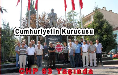 Cumhuriyetin Kurucu Partisi CHP 93. Yaşında.
