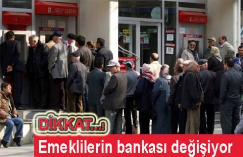 Dikkat… Emeklilerin bankası değişiyor.