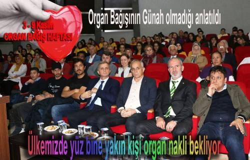 Dr. Hasan Salih Sağlam, Herkesi Organ Bağışlamaya davet etti.