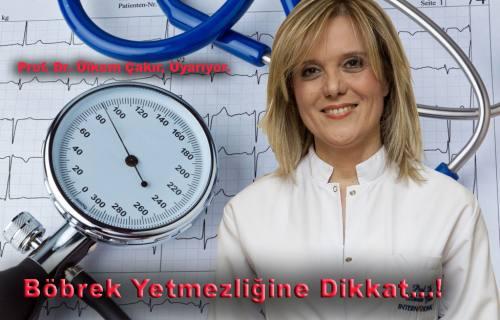 Dr. Ülkem Çakır Böbrek yetmezliğiyle ilgili çarpıcı bilgiler verdi.