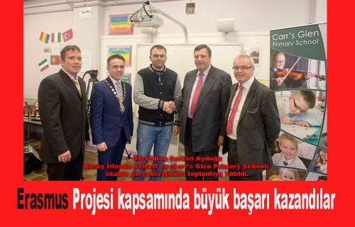 Erasmus ta Pamukova Fatmahanım Okulu büyük başarı kazandı.