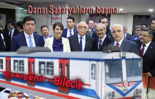Eskişehir – Bilecik hattına Banlıyö tren seferleri geliyor.