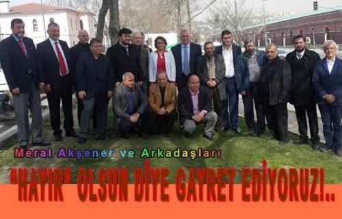 """'HAYIR"""" OLSUN DİYE GAYRET EDİYORUZ!.."""