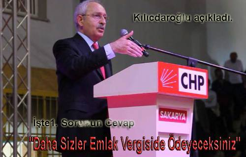 Kılıçdaroğlu Akçakaya Muhtarının sorularını cevapladı.