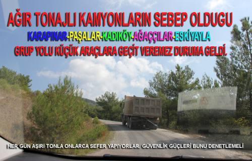 Köy yolları küçük araçlara geçit veremez hale geldi.