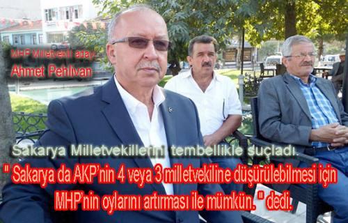 MHP adayı Ahmet Pehlivan CHP seçmenine mesaj gönderdi.