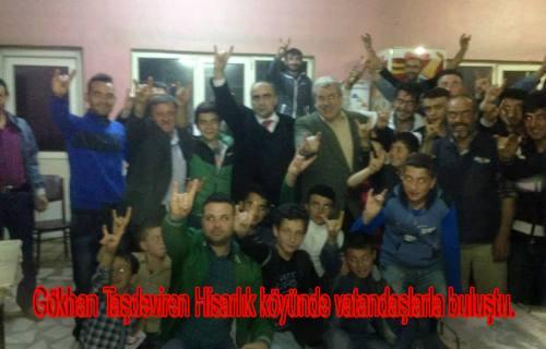 MHP adayı  Taşdeviren 'Cizre de su saati taksanıza görelim' dedi.