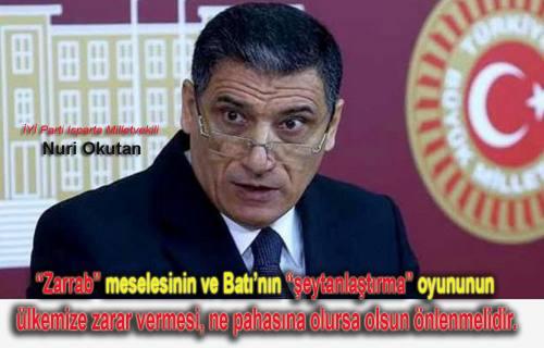 Nuri Okutan, 'Trump Erdoğan Görüşmesi Yandaş Basının algı operasyonudur.' dedi.