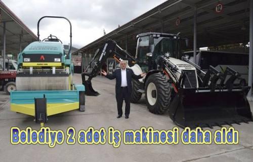 Pamukova Belediyesi Araç filosuna 2 yeni iş makinesi daha ekledi.