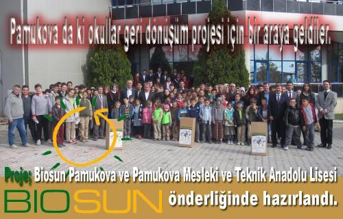 Pamukova da 'Kağıttan Fidana Dönüş' Projesi Başlatıldı