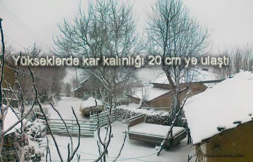 Pamukova ya Kar geldi.