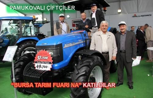 Pamukovalı Çiftçiler Bursa Tarım Fuarına katıldılar.