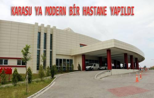 Pamukova'nın kulakları çınlasın. Karasu modern hastaneye kavuştu.