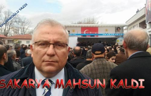 'SAKARYA MAHZUN KALDI..'