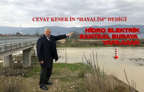 Sakarya Nehri Üzerine bir Hidroelektrik Santral daha