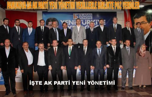 Tek liste ile seçime giren Fatih Akın, yönetimi ile birlikte poz verdi.