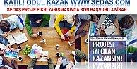Sedaşın Proje Yarışmasına katılım 4 Nisana uzatıldı.