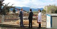 Pamukovada hastane binasının temeli atıldı