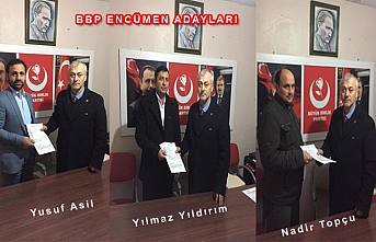 BBP Üç Encümen Üyesini daha açıkladı