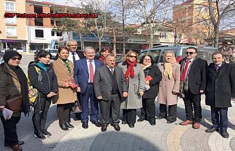 CHP Milletvekili Haluk Pekşen Pamukova'da