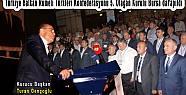 BRTK 5. Genel Kurulu sonunda Zürfeddin...