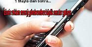 Cep telefonuna gelen izinsiz reklam mesajlarına...