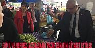 CHP'liler Adapazarı'nda Pazar Esnafını...