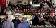 Erdoğan Isır Geyve de birlik ve beraberlik...