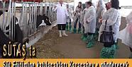İlçe Tarım Müdürlüğü süt üreticilerini...