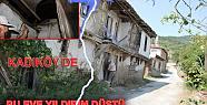 Kadıköy de tarihi eve yıldırım düştü.