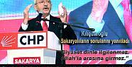 Kemal Kılıçdaroğlu Sakaryalıların...