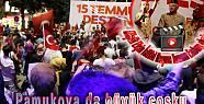 Pamukova da demokrasi mitingi canlı yayında...