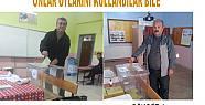 Pamukova da oy kullanma işi hızlı başladı.