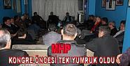 Pamukova'da MHP'liler kırgınlıkları...