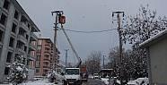 Pamukova'nın üçte birine 6.5 saat elektrik...